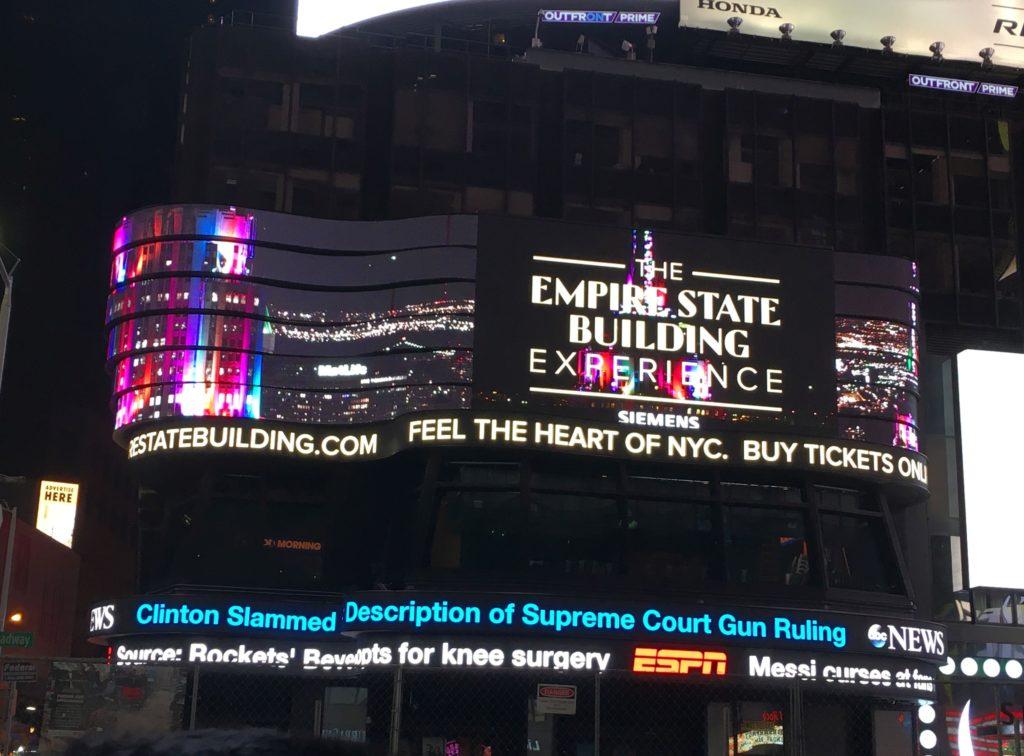 Cosa vedere a New York Times Square