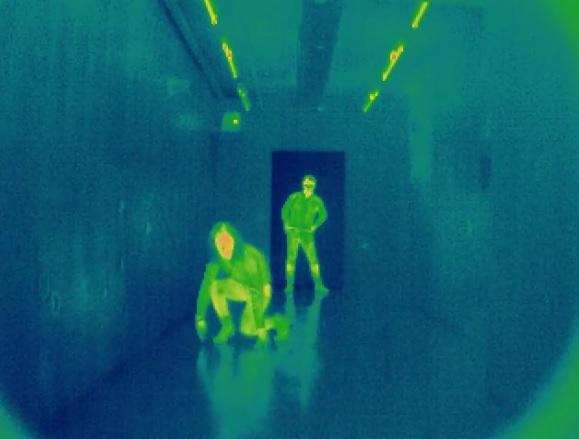 museo dello spionaggio berlino stanza laser