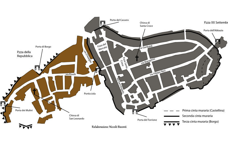 Abbadia San Salvatore mappa