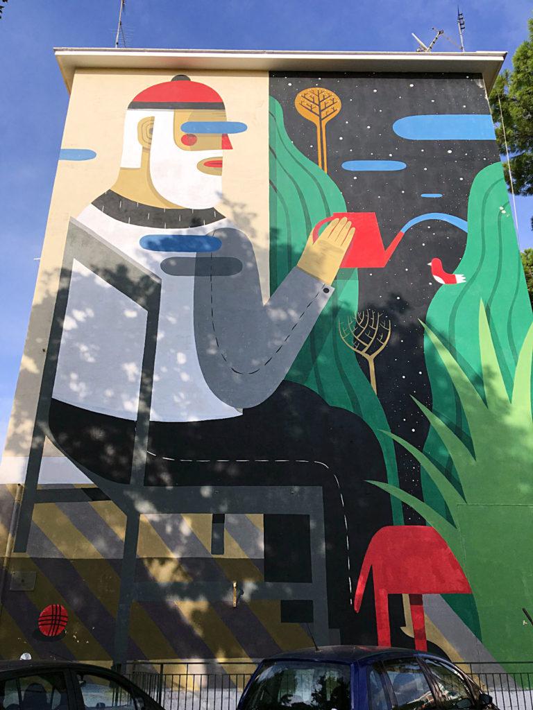 street art San Basilio