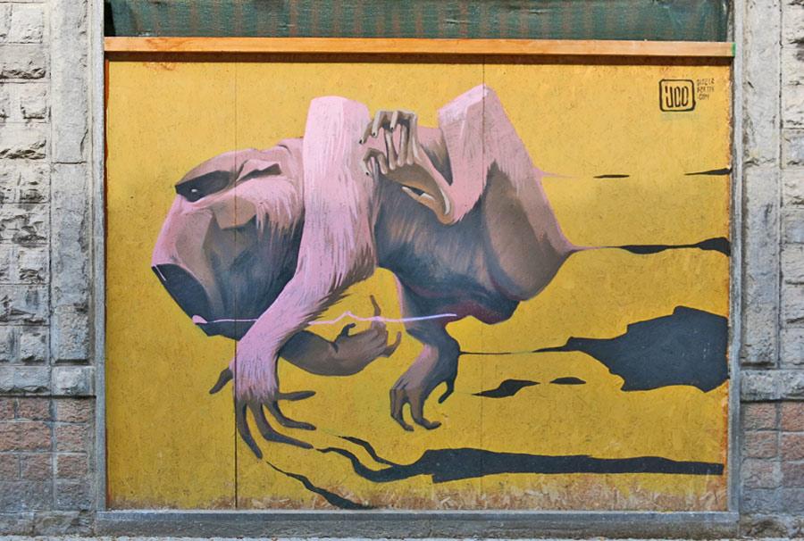 Street art a Varese