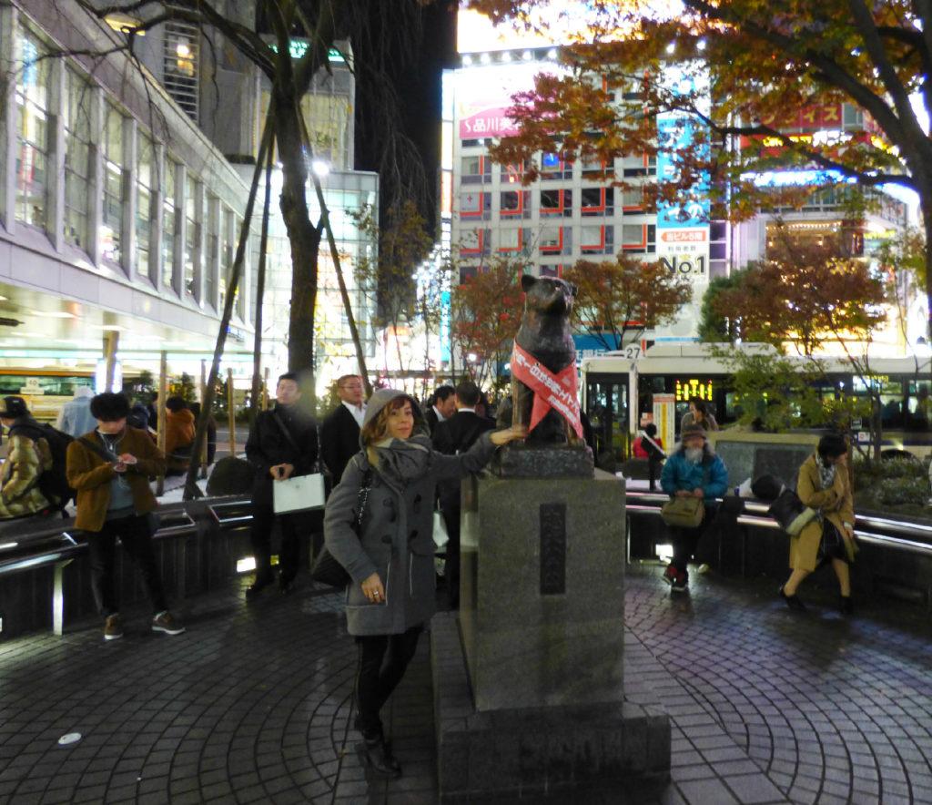 statua Hachiko