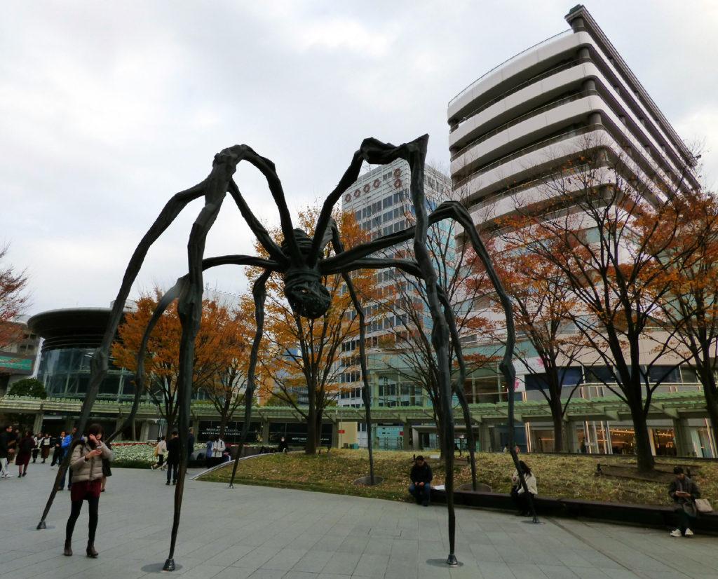 scultura Maman Tokyo
