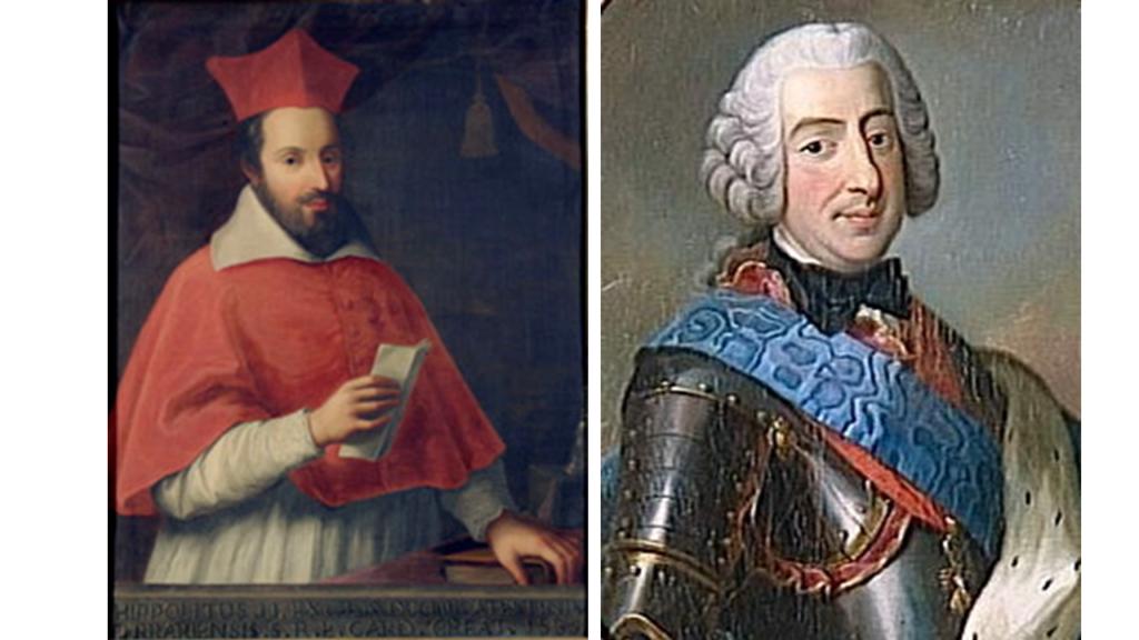 Ippolito e Francesco III d'Este