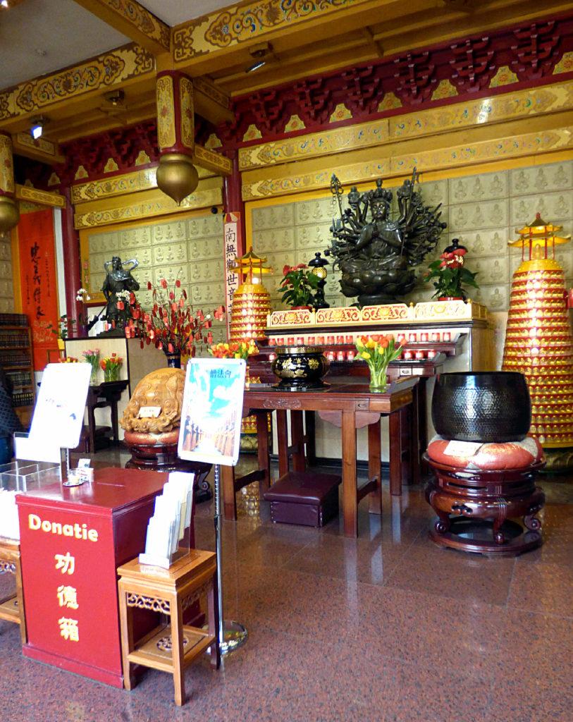 La China Town nascosta di Amsterdam e il tempio buddhista Fo Guang Shan