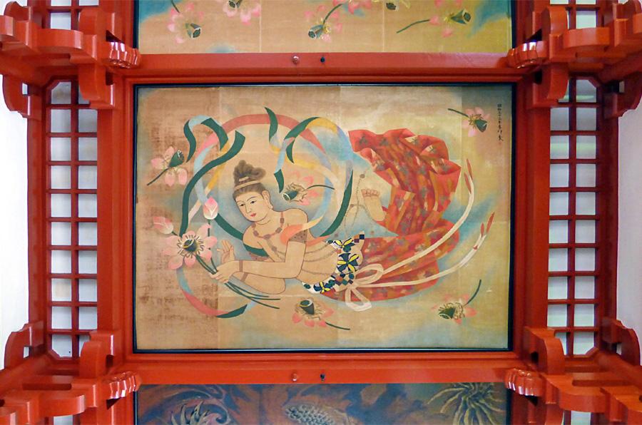 Asakusa Senso Ji soffitto