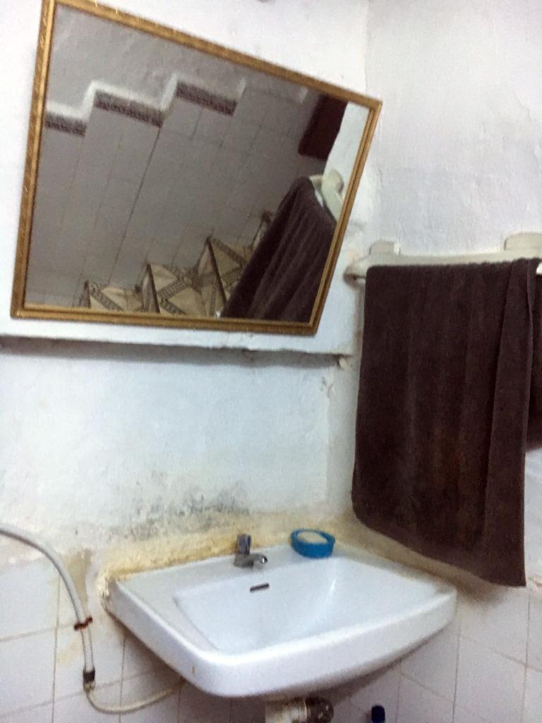 bagno ristorante in Marocco