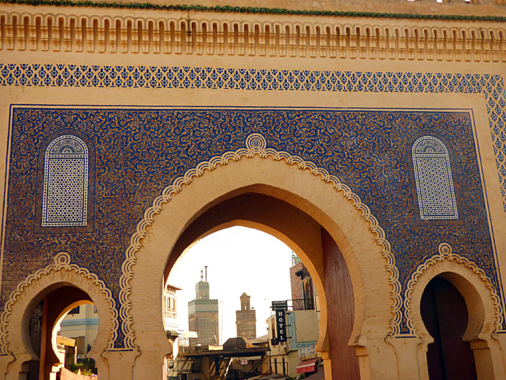 Porta blu Fez