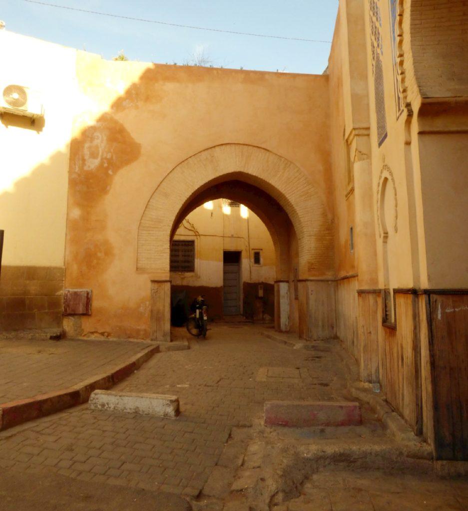 Porta del XII secolo a Fez