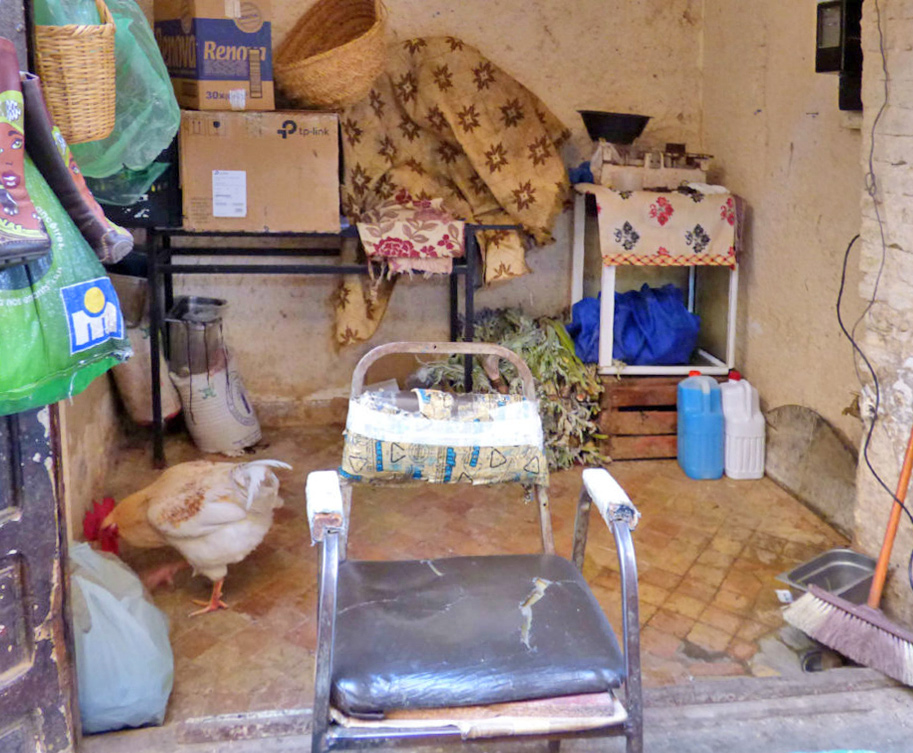 macellaio a Fez Marocco
