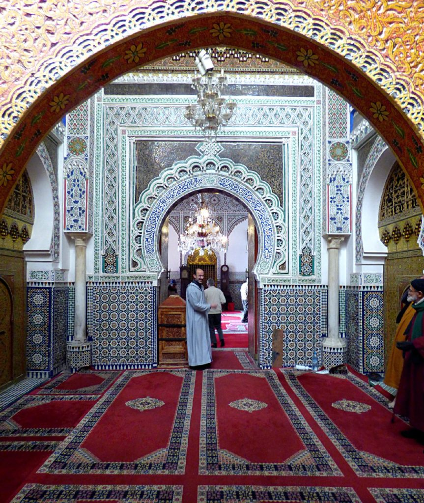 Moschea mausoleo Moulay Idriss
