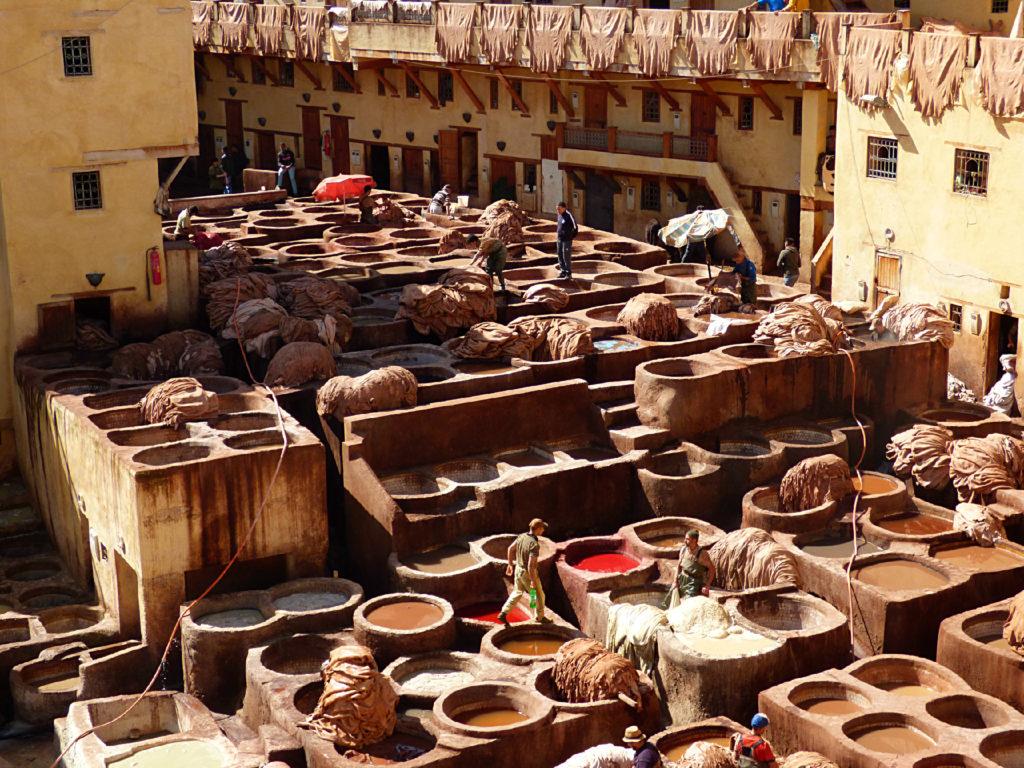 conciatori a Fez