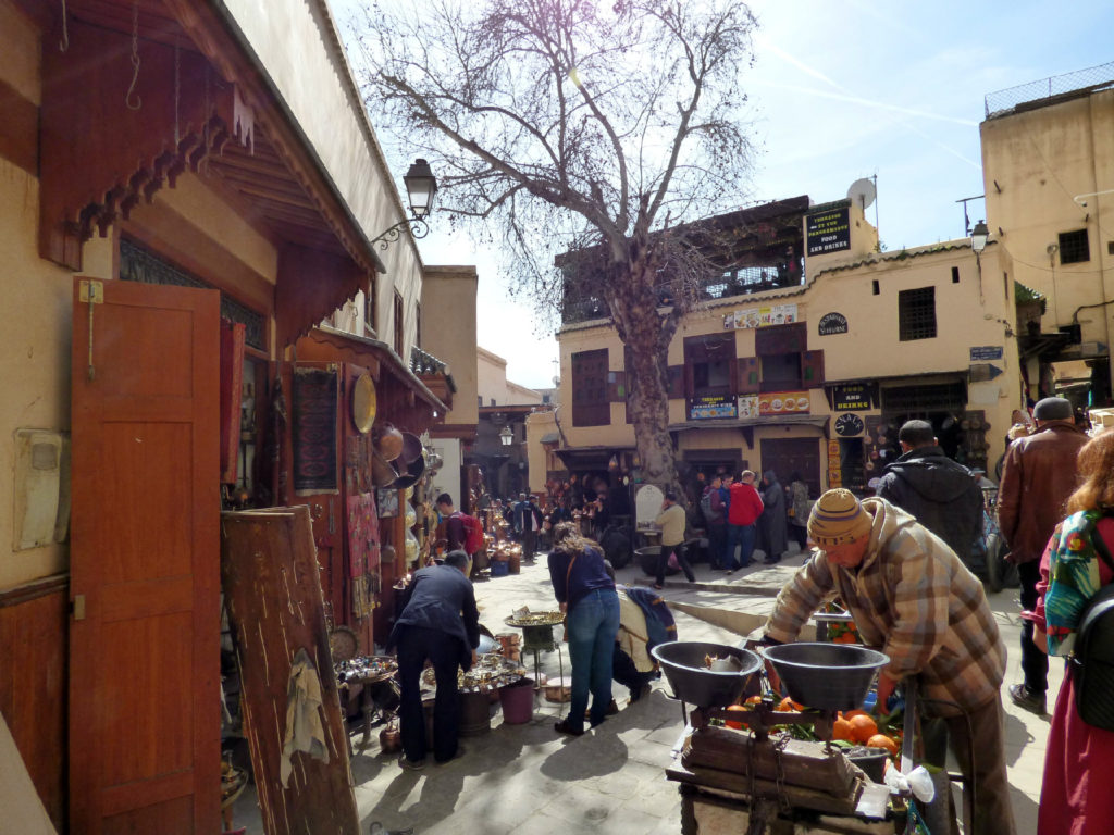 piazza a Fez Marocco
