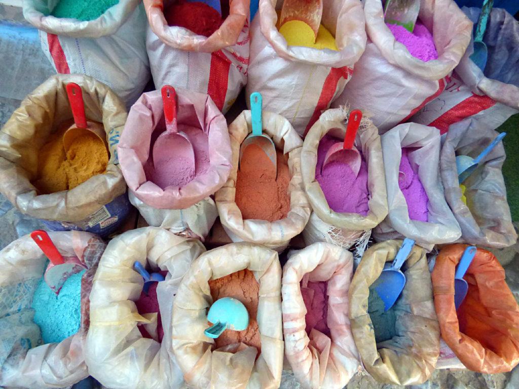 colori in vendita Marocco