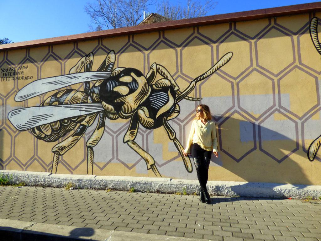 murales Nido di Vespe al Quadraro