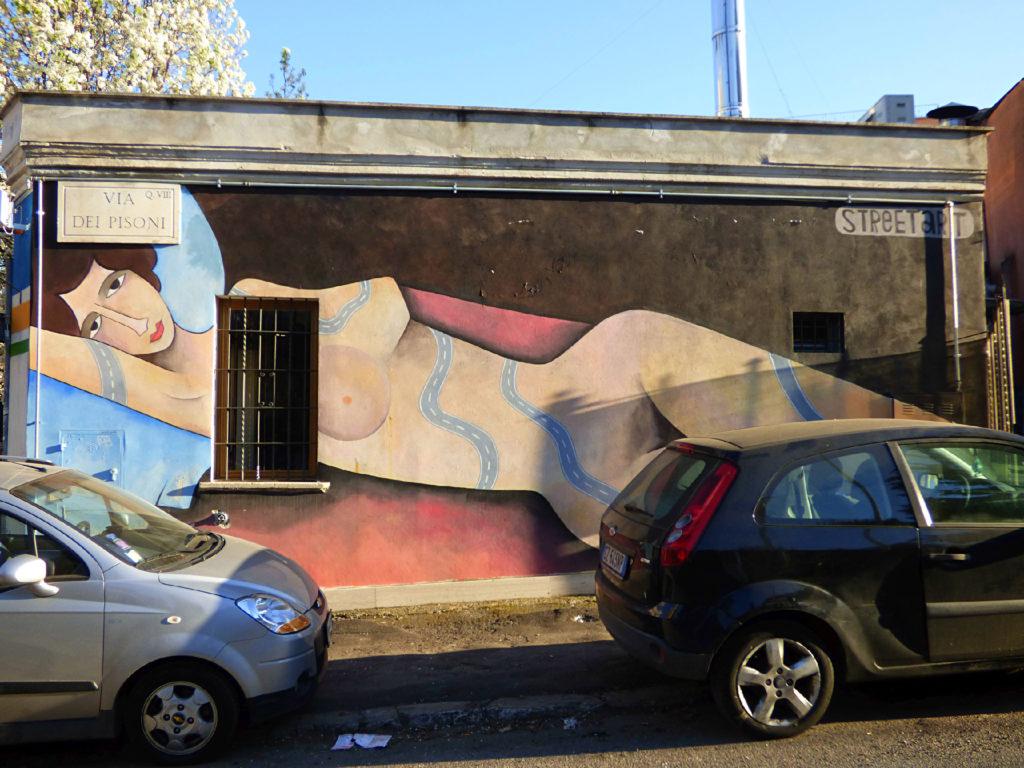 murale Grandma