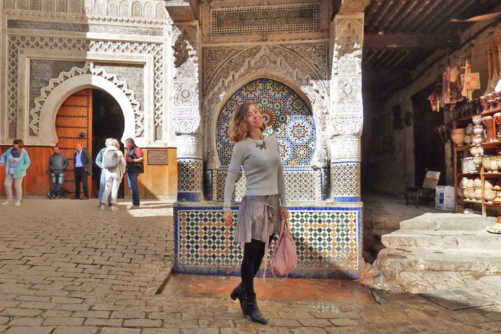 Plaze Najjarine a Fez