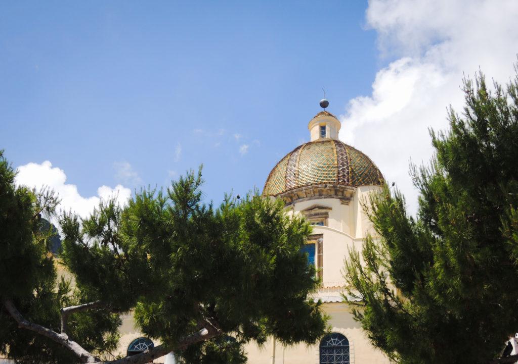 cupola di Positano