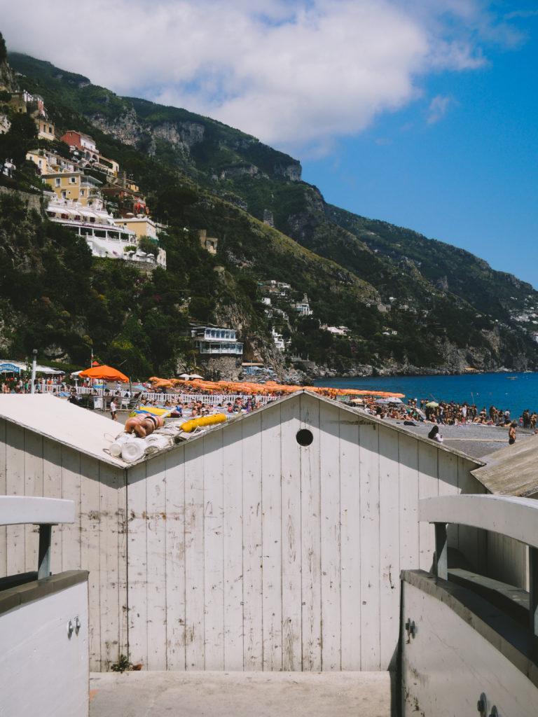 Spiaggia grande a Positano