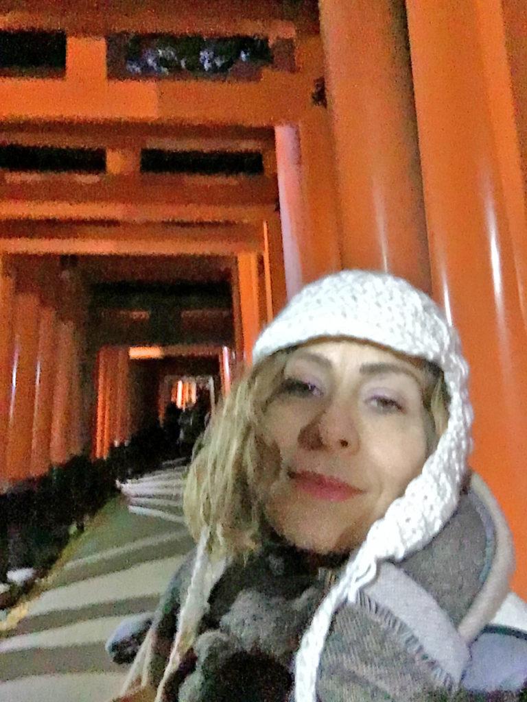 notte al santuario shintoista