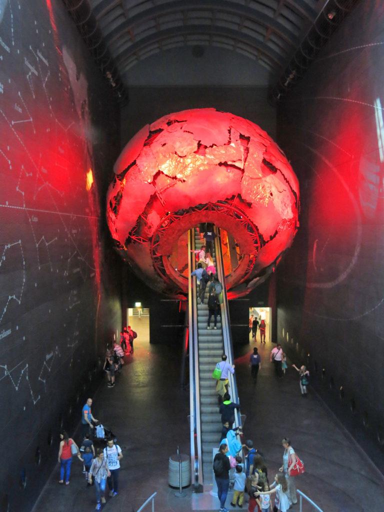 Museo di storia naturale di londra zona rossa