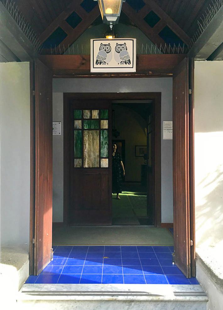 ingresso della casina delle civette