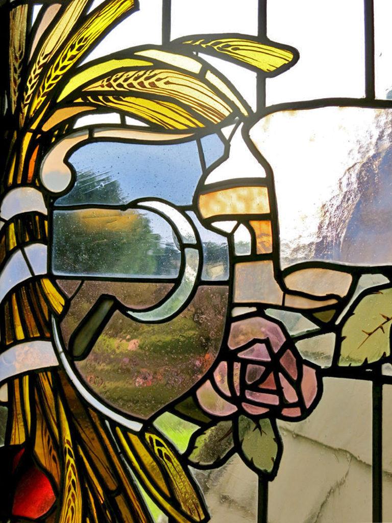 vetrata della casina delle civette