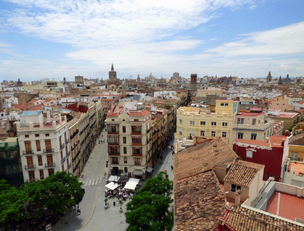 cosa vedere a Valencia panoramica dall'alto