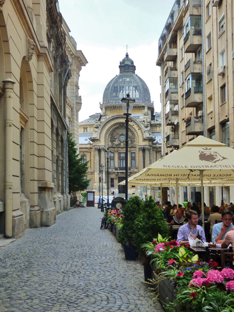 centro storico di Bucarest
