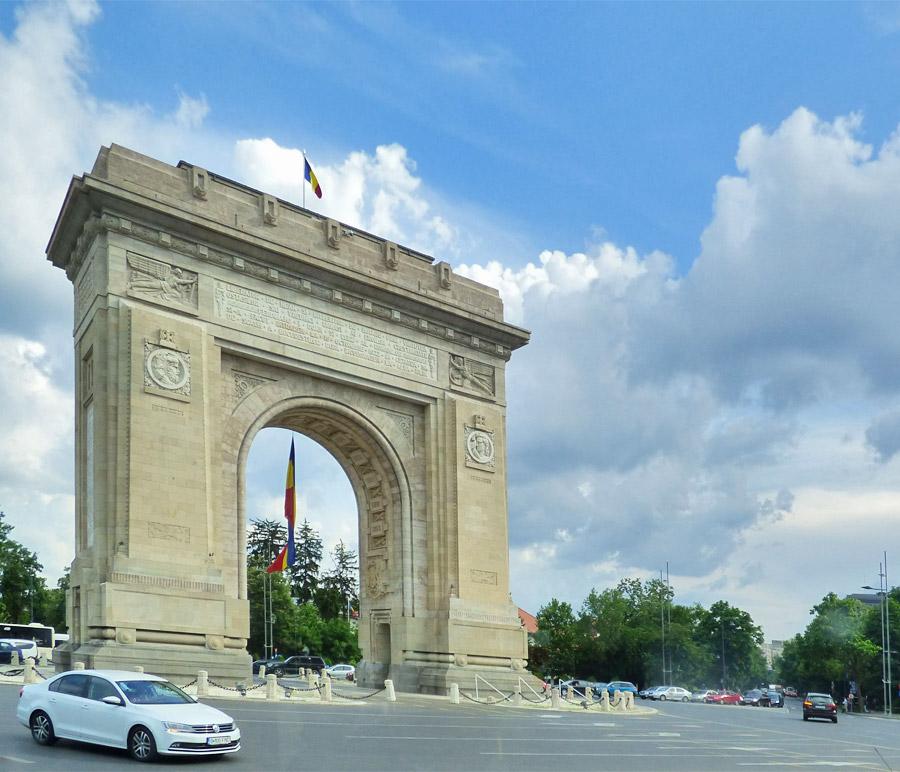 Arco di Trionfo Bucarest