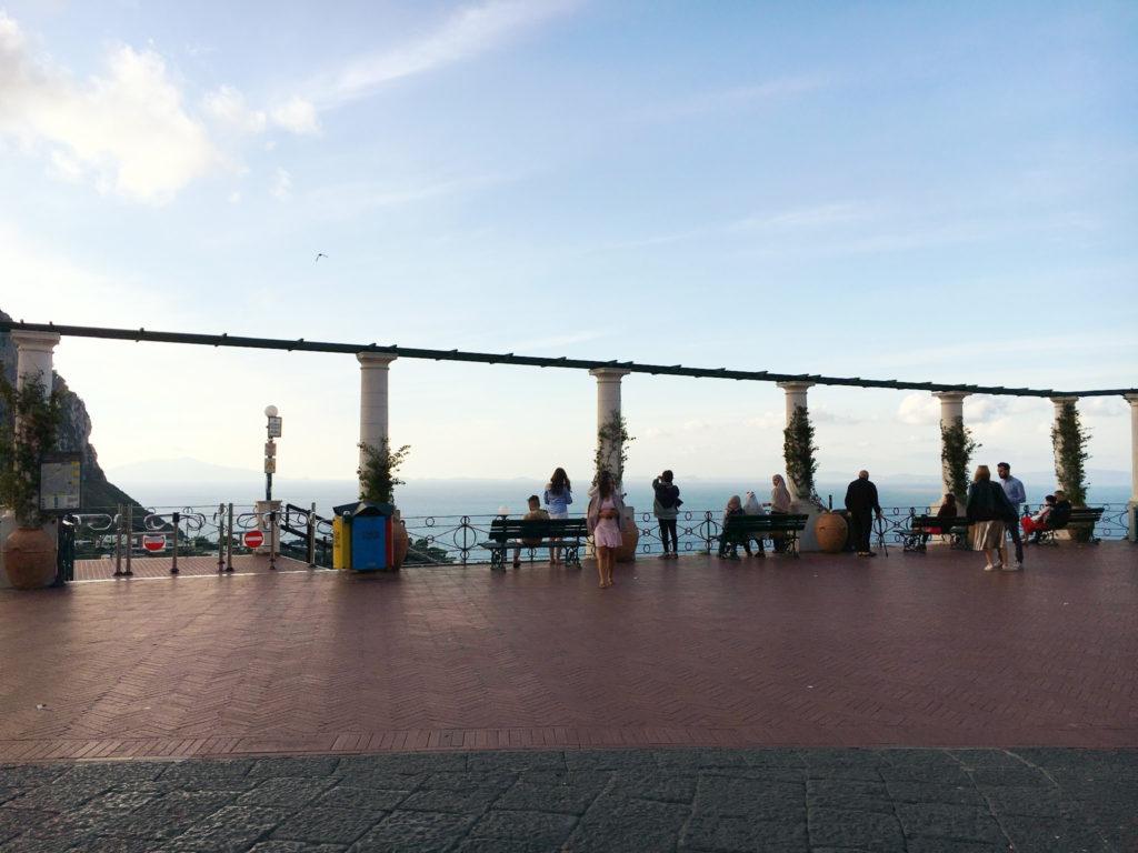 terrazza a Capri