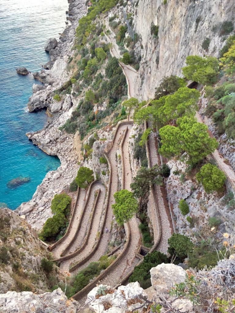 Cosa vedere a Capri via Krupp