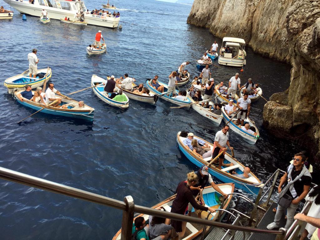entrata della Grotta a Capri