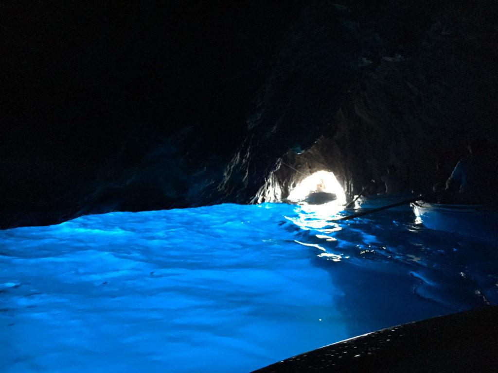 interno della Grotta Azzurra