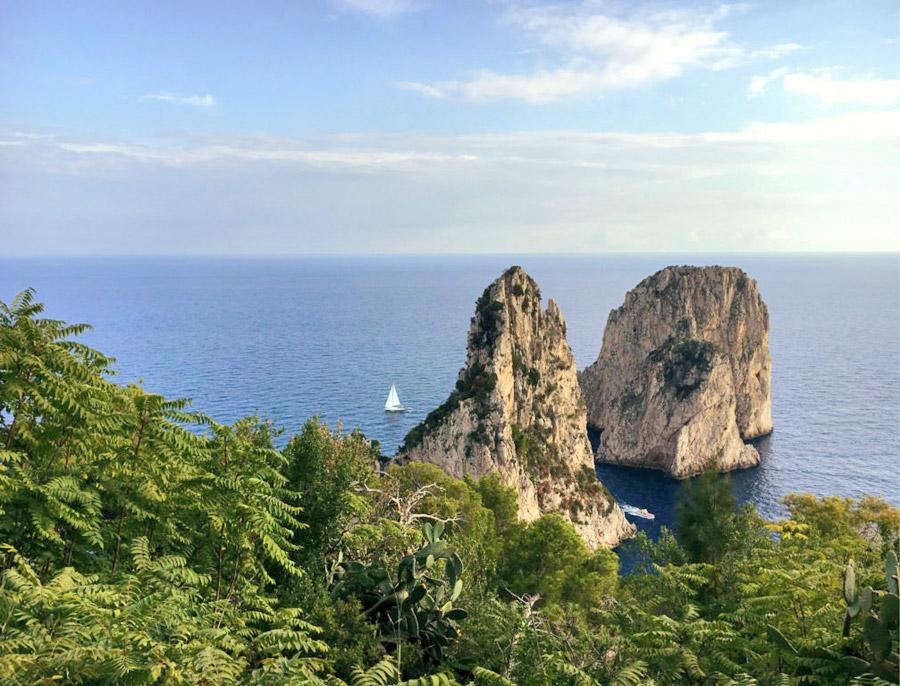 cosa vedere a Capri Faraglioni