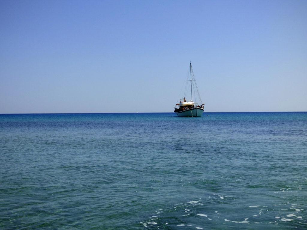 Zephyros Boat Milos