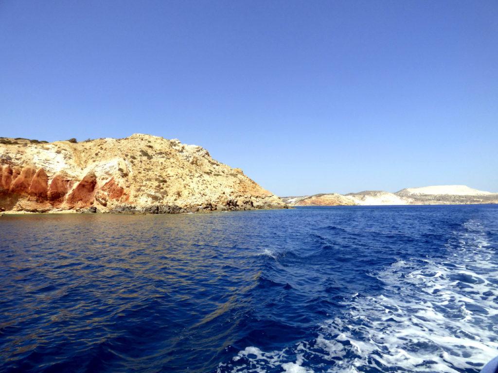 costa di Milos