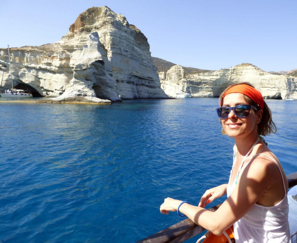 panorama dalla barca