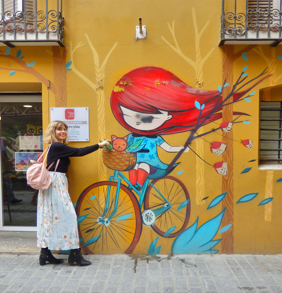 murales Barrio del Carmen