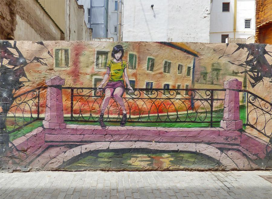 Calle de Moret, detta Calle de los Colores
