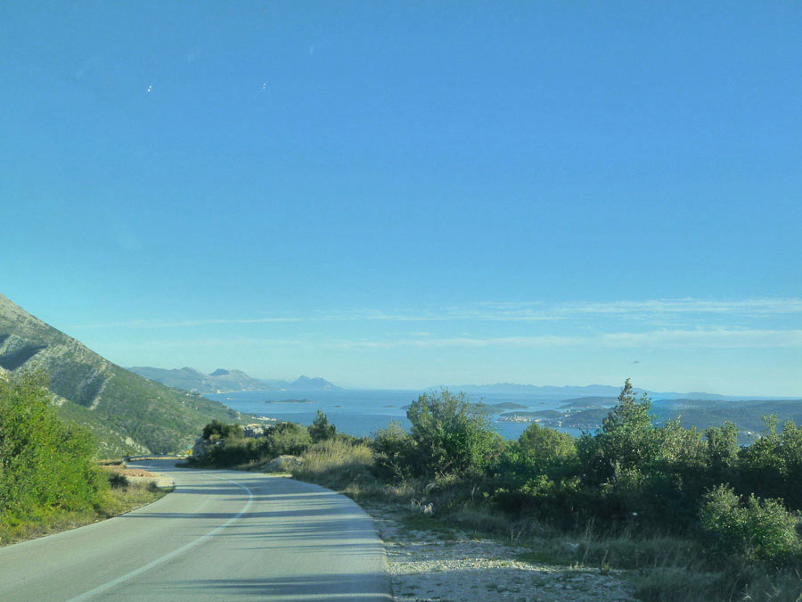 strada costiera