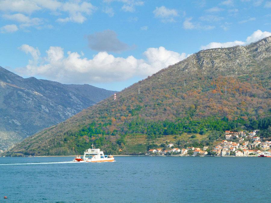 Ferry alle Bocche di Cattaro
