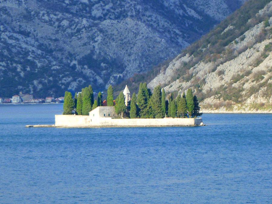 isola nelle Bocche di Cattaro