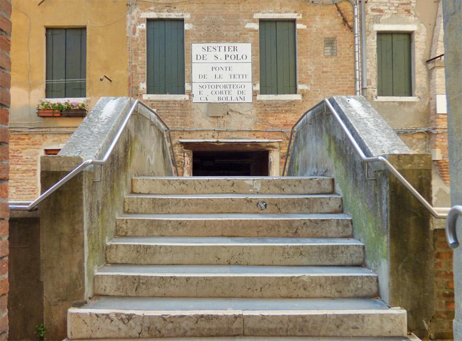 Ponte delle Tette Venezia in un giorno