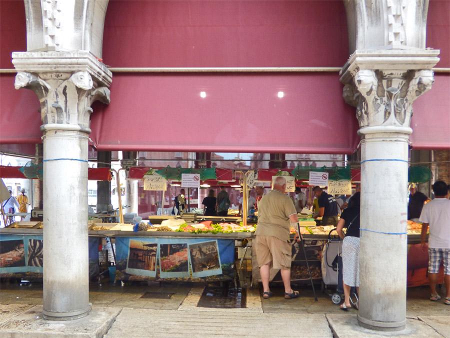 Mercato del pesce al minuto Venezia