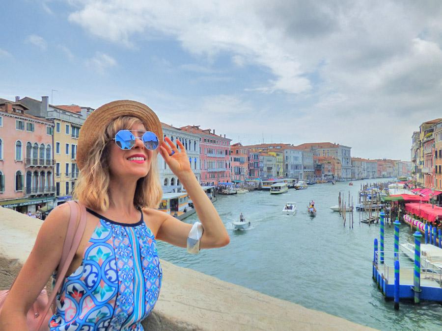 Ponte di Rialto Venezia in un giorno