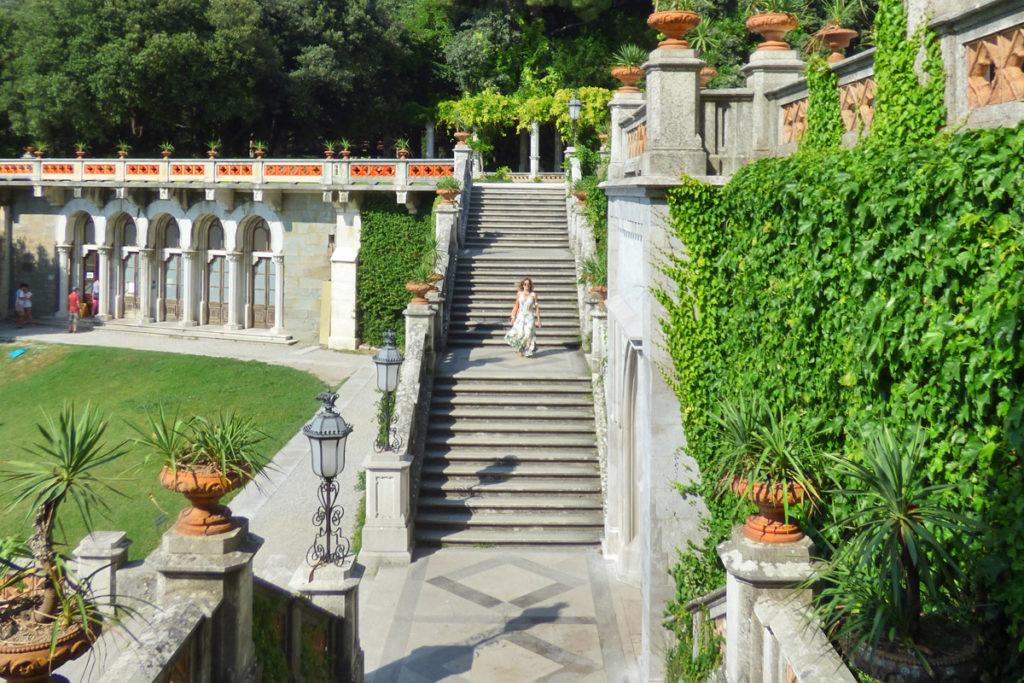 miramare scalinata