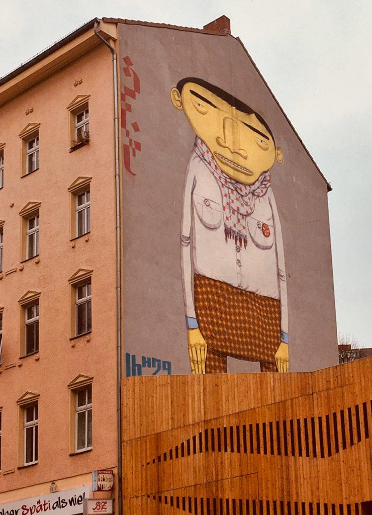 murales Berlino Yellow Man