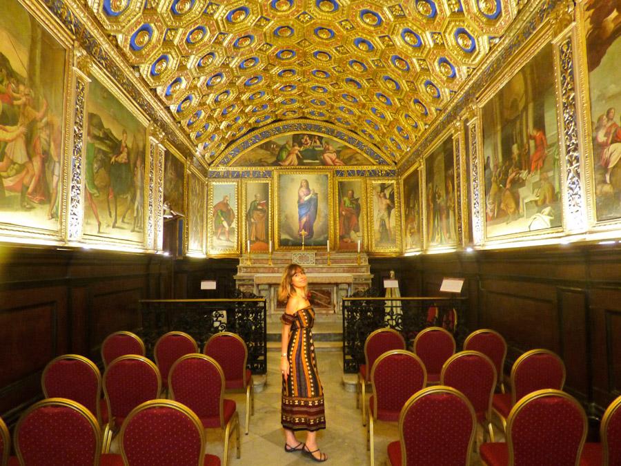 Cose da vedere a Gaeta: Cappella dell'Immacoalta Concezione