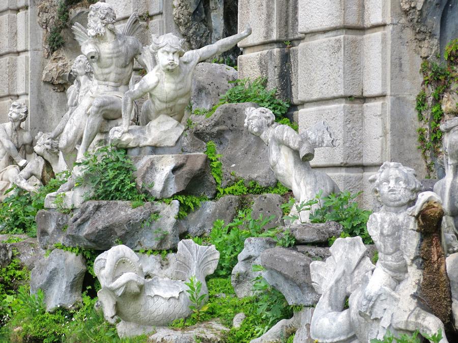 Reggia di Caserta Fontana di Eolo